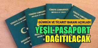 Bakan Tüfenkçi: İhracatçıya yeşil pasaport verilecek başvuru