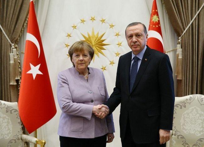 Cumhurbaşkanı Erdoğan'dan Merkel'in İslamist terör ifadesine tepki