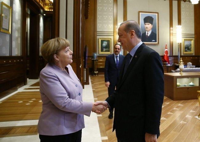 angela merkel erdoğan görüşmesi almanya ankara