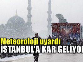 Meteoroloji'den İstanbul için kar yağışı uyarısı
