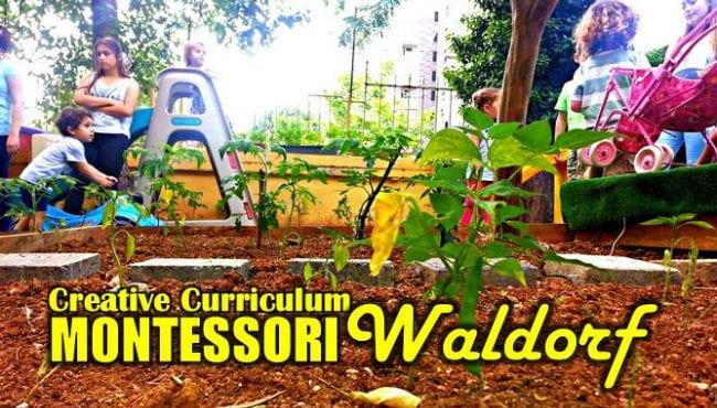 Okul öncesi: Creative Curriculum, Montessori ve Waldorf cansın preschool selçuk demirtaş