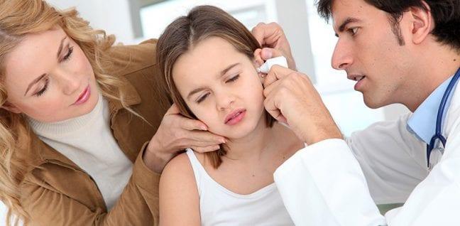 Çocuklarda'orta kulak' problemleri