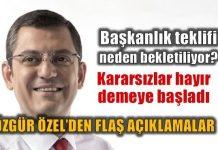 CHP'li Özgür Özel açıkladı: Başkanlık teklifi neden bekletiliyor?