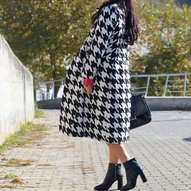 piyedepul uzun kaban kabanlar moda trend alışveriş kadın