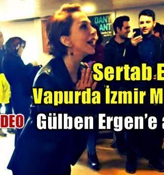 Sertab Erener vapurda İzmir Marşı'nı Gülben Ergen'e anlattı