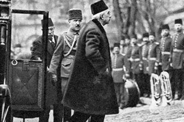 sultan vahdettin dolmabahçe