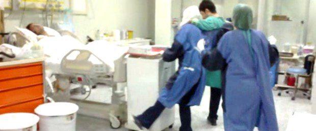 Video: Yoğun bakımda halay çekip göbek attılar