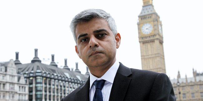 Londra Belediye Başkanı Sadiq Khan sadık han