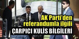 AK Parti'nin zirve niteliğindeki kahvaltı toplantısından referandum ile ilgili çarpıcı kulis bilgileri...