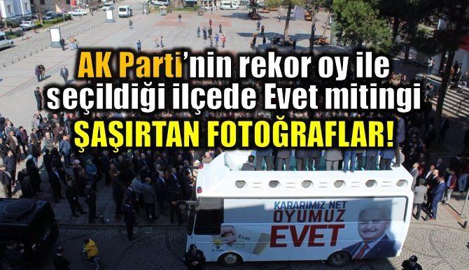 Recep Akdağ'ın Ordu Ünye'de yaptığı referandum mitingi