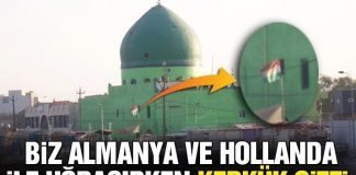 Ankara yönetimi, Kerkük Valiliği'nin bayrak talebinden rahatsız oldu