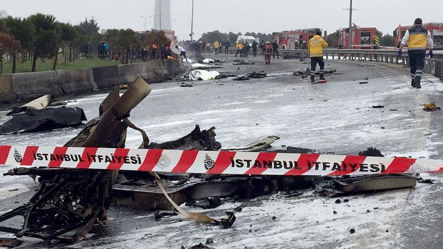 büyükçekmece helikopter kazası