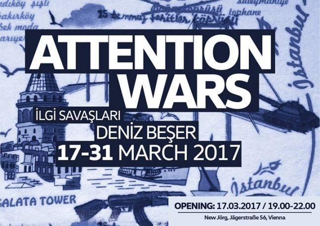 Deniz Beşer sergisi: Attention Wars // İlgi Savaşları