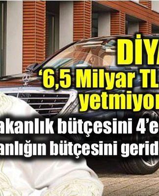 Diyanet bütçesi ne kadar? 6,5 milyar TL'lik bütçe yetmedi!