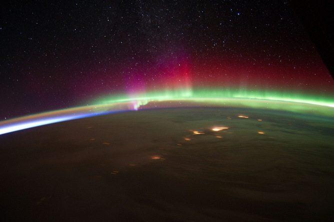 dünya manyetik kutuplar aurora