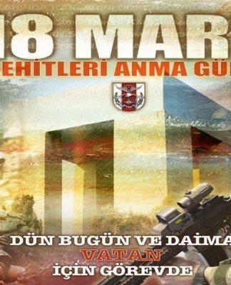 Genelkurmay'dan bu yıl Atatürk'süz 18 Mart afişi