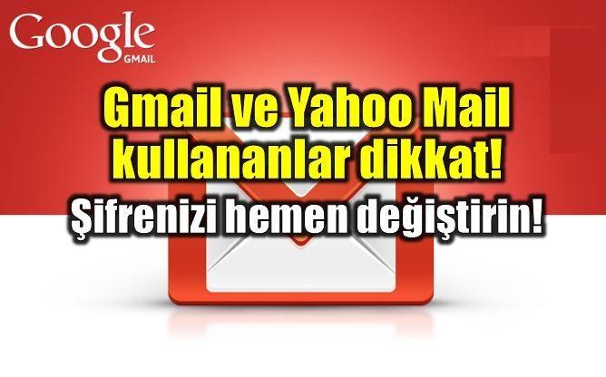 1 milyon Gmail ve Yahoo mail hesabı satışa çıktı!