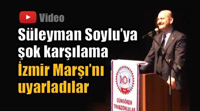 İçişleri Bakanı'na şok karşılama: Yaşa Süleyman Soylu Paşa trabzon