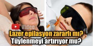 Lazer epilasyon zararlı mı? Tüylenmeyi artırır mı?