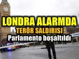 Londra Parlamento binası yakınında terör saldırısı