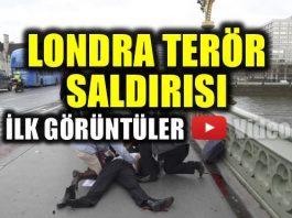 Londra terör saldırısından ilk görüntüler