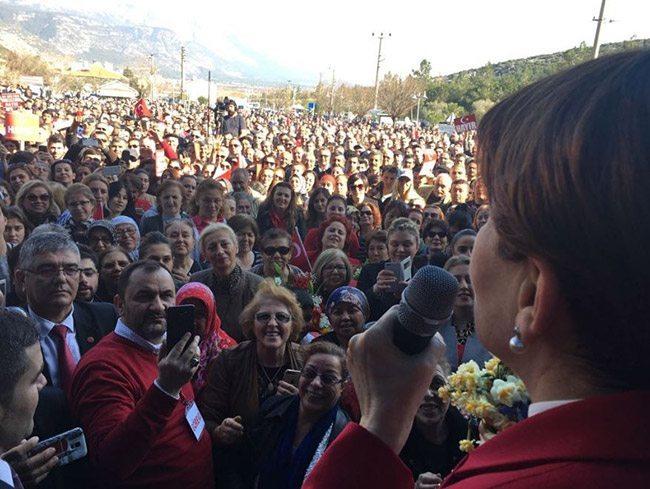 Meral Akşener, Muğla'da halka seslendi