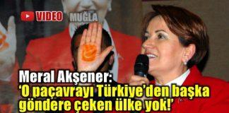 Meral Akşener: O paçavrayı göndere çeken başka ülke yok!
