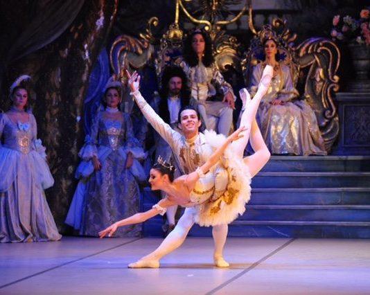 Süreyya Operası'nın Uyuyan Güzel'i