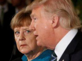 Trump Merkel'in elini sıkmayı reddetti: İşte o an!
