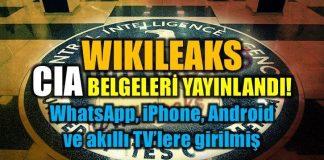 WikiLeaks CIA belgeleri yayınlandı: Vault 7 deşifre oldu!
