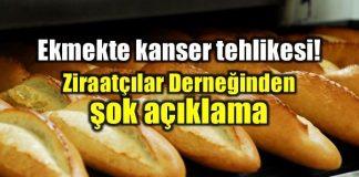 Ziraatçılar Derneği: Tarım ilaçları ekmekte kanser riskini artırıyor