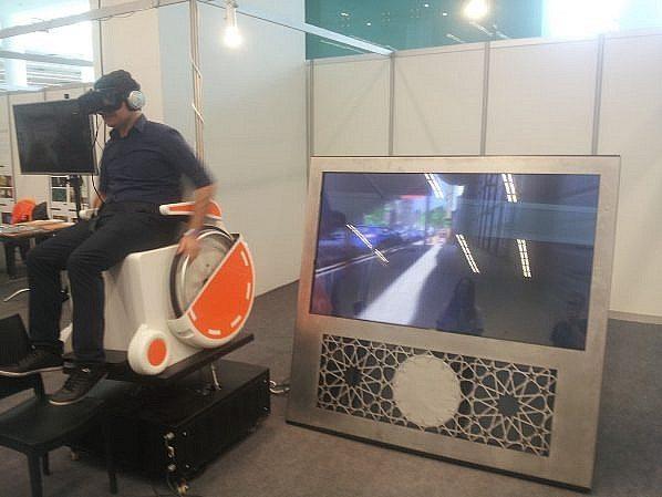 Tekerlekli sandalye simülatörü