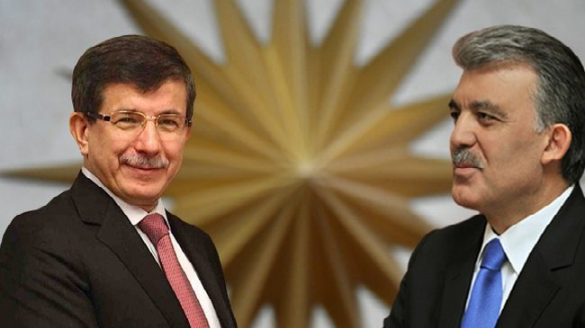 Abdullah Gül ve Ahmet Davutoğlu