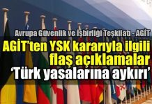 AGİT'ten YSK kararıyla ilgili flaş açıklamalar