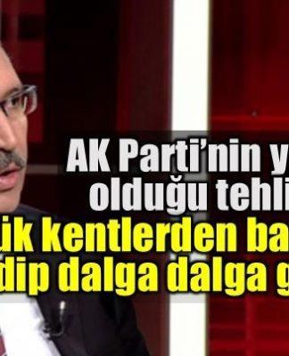 AK Parti'nin karşı karşıya olduğu kaybetme tehlikesi