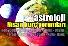 Astroloji: Nisan 2017 burç yorumları. Koç, Boğa, İkizler, Yengeç, Aslan, Başak, Terazi, Akrep, Yay, Oğlak, Kova, Balık burçlarını neler bekliyor?