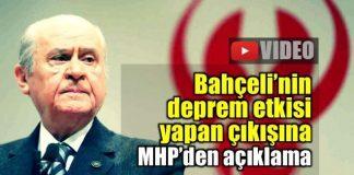 Bahçeli'nin Hayır çıkışına MHP'den açıklama