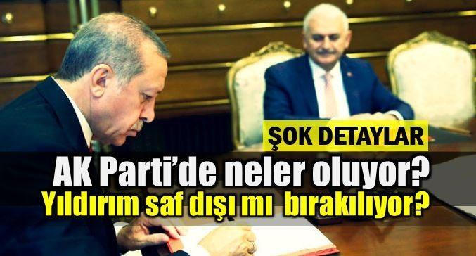 Binali Yıldırım'ın süreçten neden haberi yok? Saf dışı mı bırakılıyor? ak parti olağanüstü kongre erdoğan