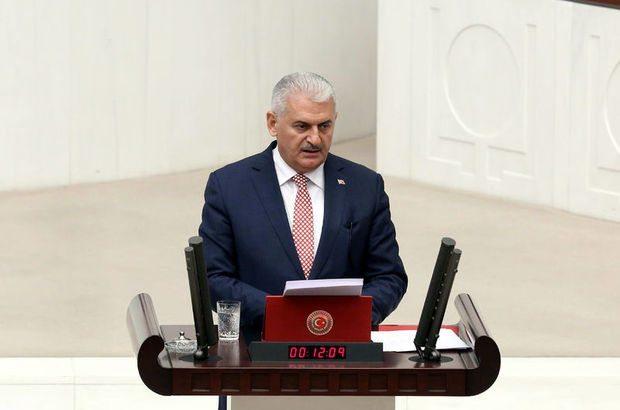 Başbakan Binali Yıldırım ikinci kez kürsüye geldi