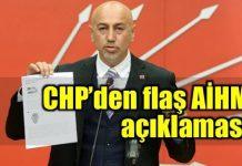 CHP'li Erdal Aksünger'den YSK'nın mühürsüz pusula kararı, sine-i millet (meclisten çekilme) tartışması ve AİHM ile ilgili önemli açıklamalar.