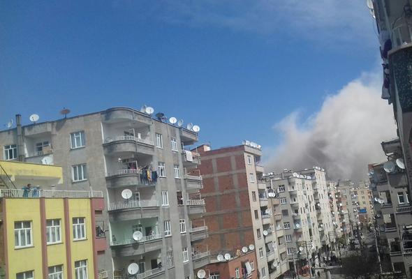 diyarbakır patlama bağlar emniyet müdürlüğü panzer tamiri