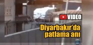 Video: Diyarbakır Bağlar'da patlama anı