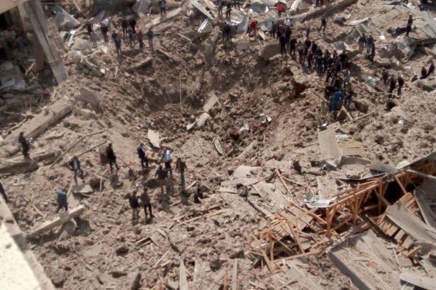 diyarbakır bağlar patlama bina çöktü