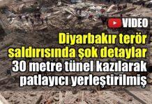 Diyarbakır Bağlar saldırısını PKK üstlendi: Yerin altına patlayıcı yerleştirilmiş