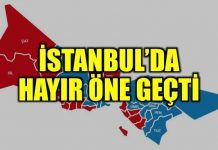 SON DAKİKA: İstanbul'da 'Hayır' öne geçti