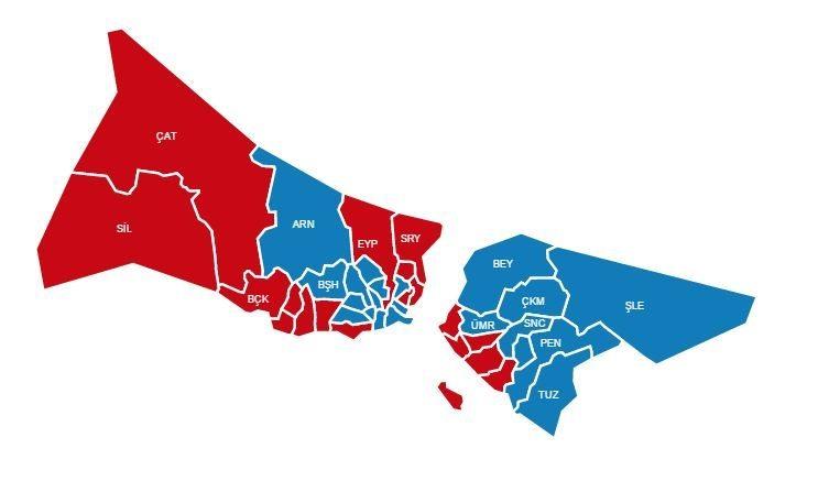 istanbul hayır referandum sonuçları