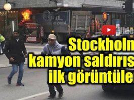 İsveç'in başkenti Stockholm'de alişveriş merkezlerinin bulunduğu araç trafiğine kapalı olan Drottninggatan caddesinde kamyonla düzenlenen saldırıda en az 2 ölü ve çok sayıda yaralı olduğu bildi.