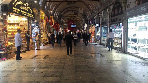 kapalıçarşı boş iflas dükkanlar kapandı