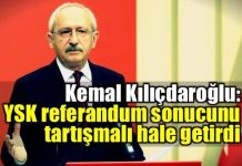 Kemal Kılıçdaroğlu'nun referandum konuşması