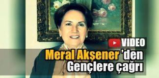 Meral Akşener'den gençlere referandum çağrısı